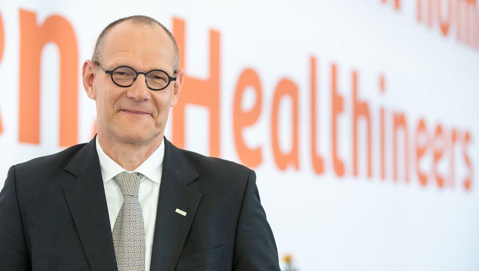 """Siemens-Healthineers-Chef Bernd Montag: """"Aus heutiger Sicht sind keine gesicherten Annahmen zur Geschäftsentwicklung möglich"""""""