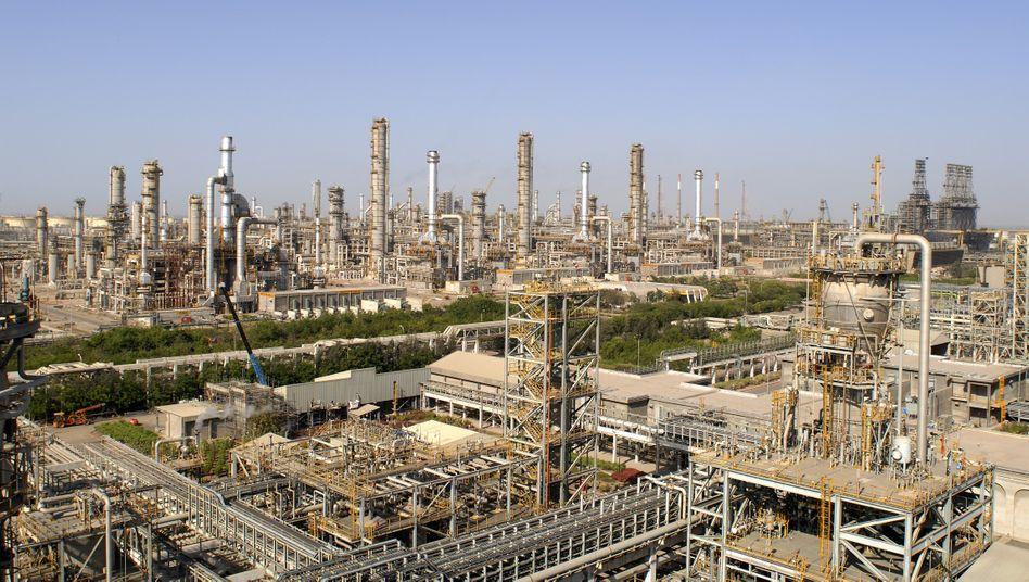 Reliance-Raffinerie in Jamnagar, Indien (undatiertes Archivbild)
