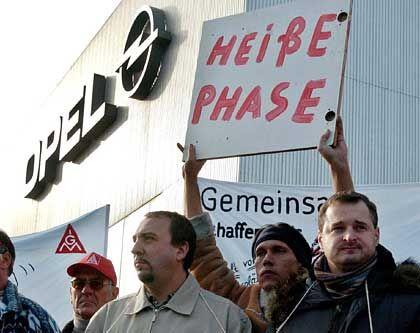 Heißer Dienstag: In ganz Europa streikten GM-Mitarbeiter wie hier in Bochum