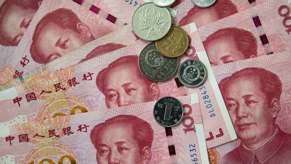 Chinesischer Yuan: Erstmals seit mehr als elf Jahren kostete ein Dollar wieder mehr als sieben Yuan