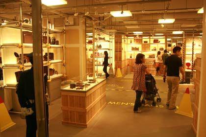 Untergrund: Louis Vuitton präsentiert seine Produkte auf einer Luxusbaustelle