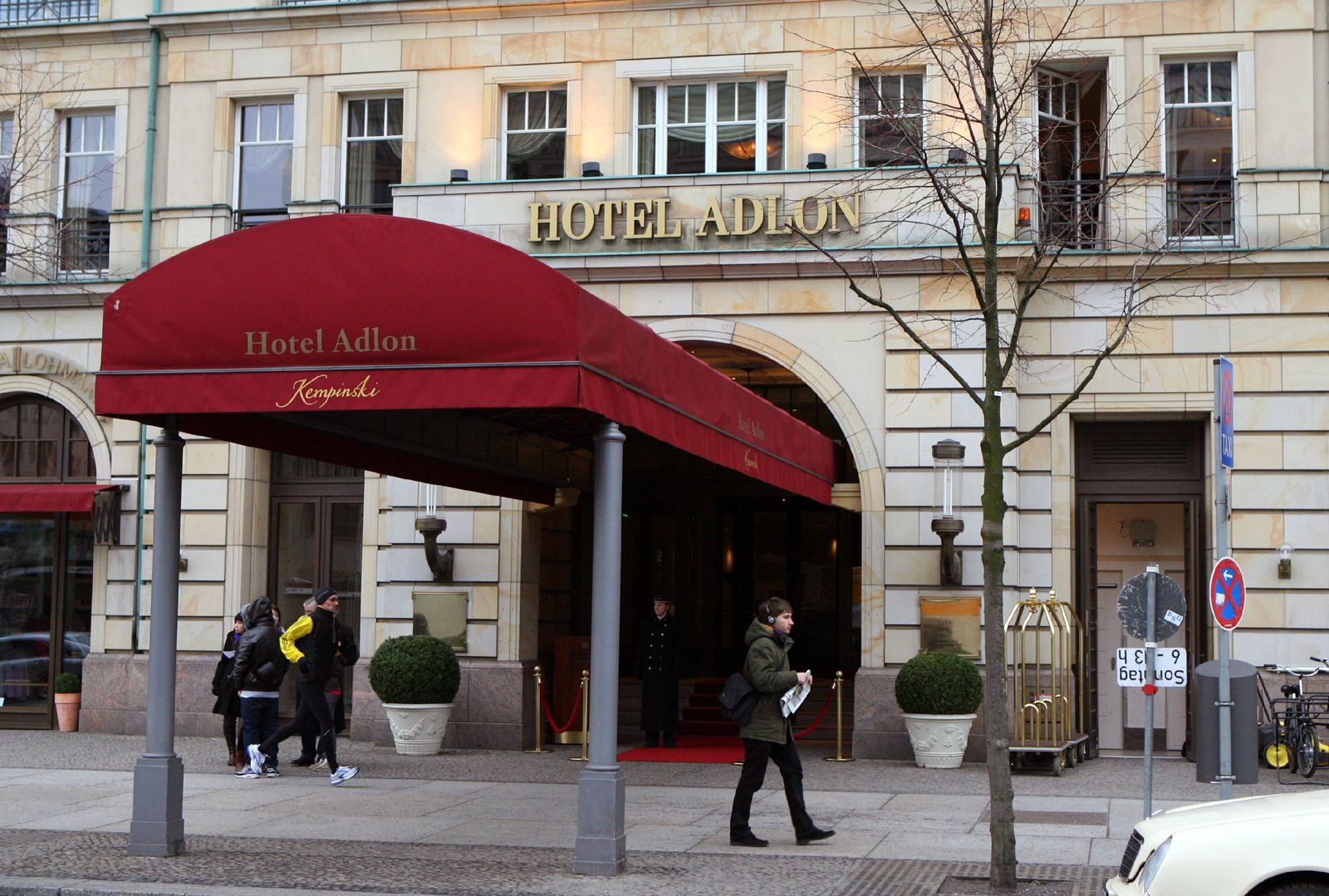 Hotel Adlon in Berlin