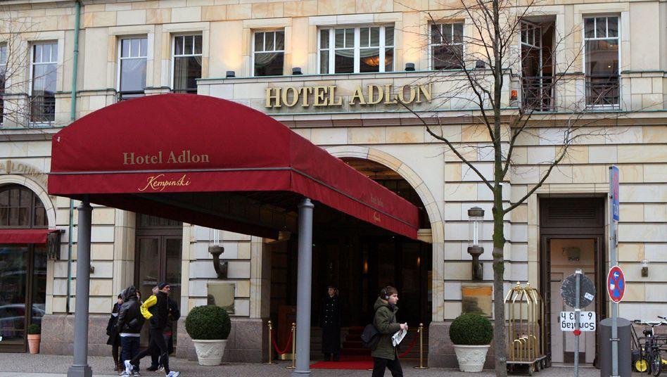 Erste Adresse in Berlin: Das Hotel Adlon Unter den Linden