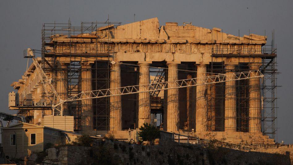 Lukratives Objekt: Die Akropolis in Athen könnte den Griechen Geld bringen