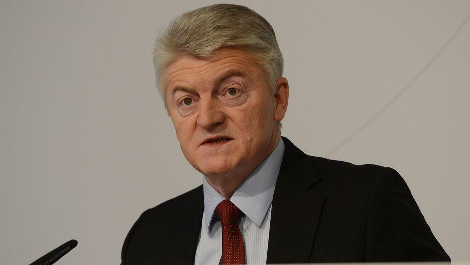 ThyssenKrupp-Chef Heinrich Hiesinger: Kontakt zu Hedgefonds aus New York und London