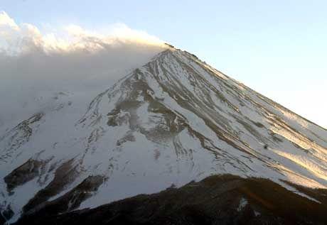 Wahrzeichen: Der Vulkan Fujijama