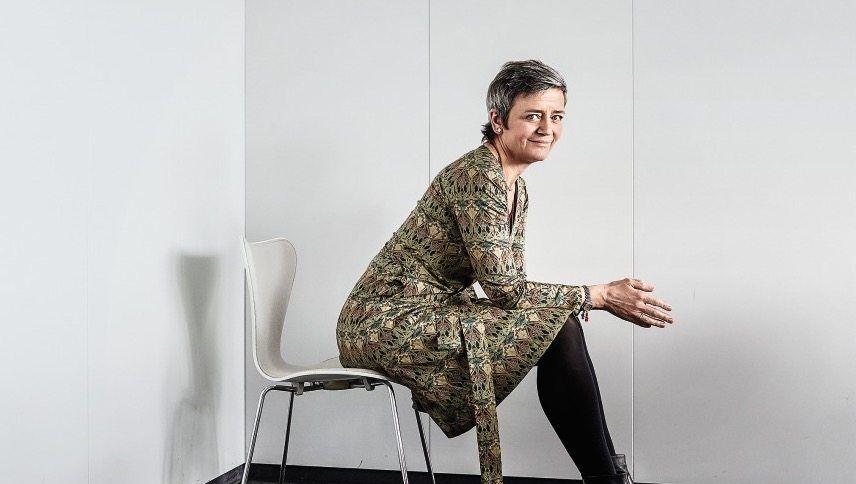 Kampfbereit: EU-Wettbewerbshüterin Margrethe Vestager