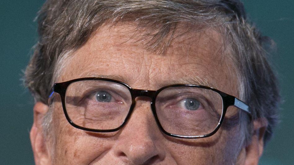 Gilt als reichster Mensch der Welt: Microsoft-Gründer Bill Gates