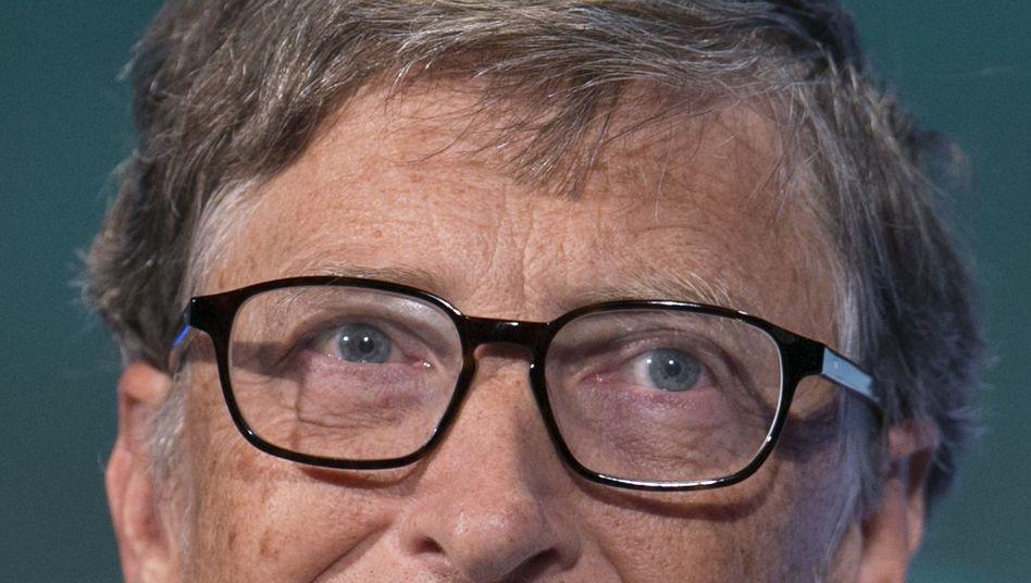 Bill Gates: Der Software-Milliardär, Investor und Philanthrop verkauft im Schnitt 80.000 Microsoft-Aktien - pro Börsentag
