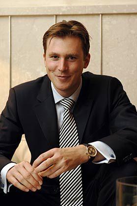 Clemens Fischer (31), promovierter Mediziner, teilt sich den 1. Platz im CEO-Wettbewerb mit Verena Delius