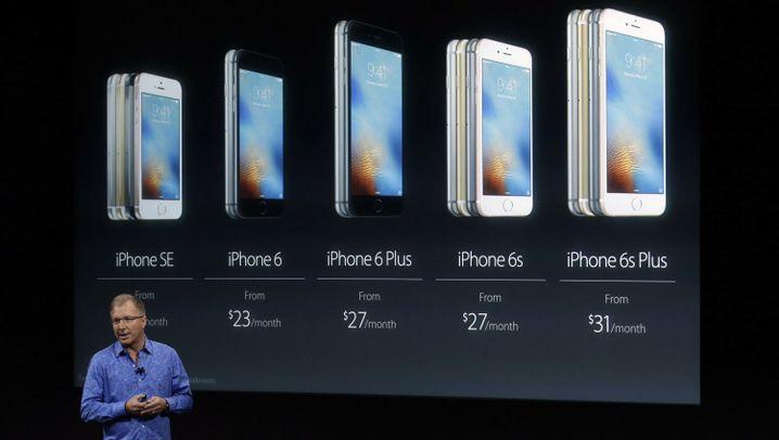 Fotostrecke: iPhone SE und iPad Air Pro