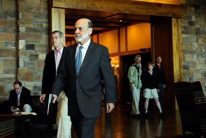 Ließ sich seinen Optimismus kaum anmerken: US-Notenbankchef Bernanke