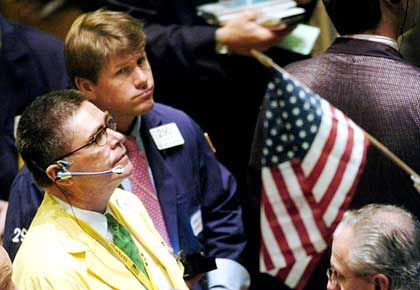 Börsenhändler in New York: Aktien des Versicherungskonzerns AIG werden wieder gekauft