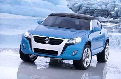 """Neues VW-Gesicht: Volkswagen teilte mit, die neue Frontpartie sehe aus """"wie das Spiegelbild eines Geparden"""". Das tut sie zwar ganz und gar nicht, ist aber dennoch gelungen"""