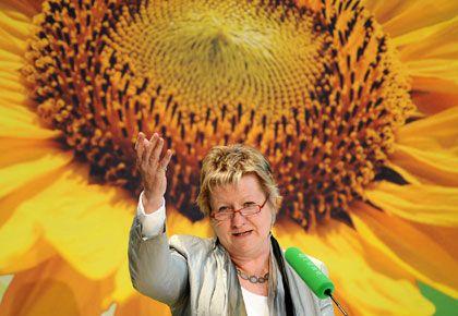Wahlgewinnerin: Grünen-Landeschefin Sylvia Löhrmann verdoppelte das Ergebnis ihrer Partei