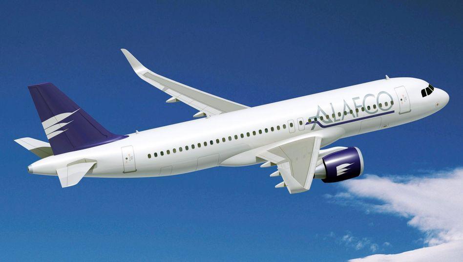 A320neo: Allein 15 Maschinen diesen Typs hat die staatliche Fluggesellschaft Kuwait Airways bei Airbus bestellt.