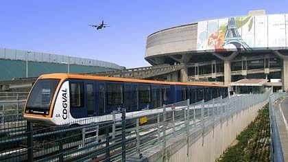 Val-System von Siemens am Flughafen Charles de Gaulle: Ferngesteuerte Züge im Abstand von vier Minuten