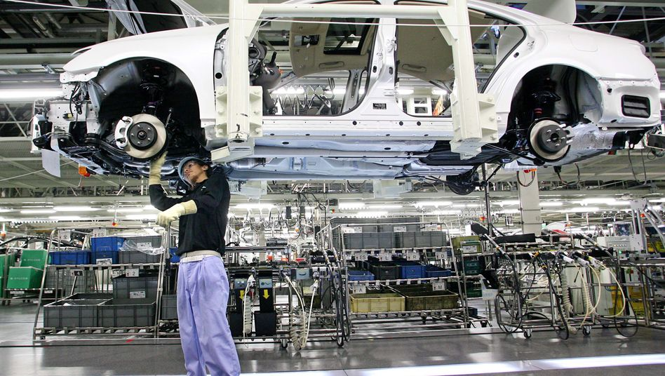 Produktion bei Toyota