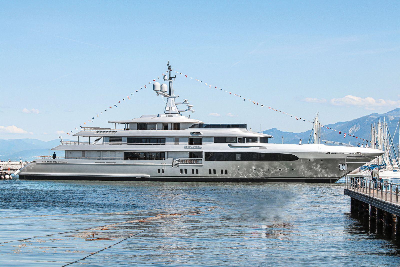 EINMALIGE VERWENDUNG Regina DItalia / Motoryacht