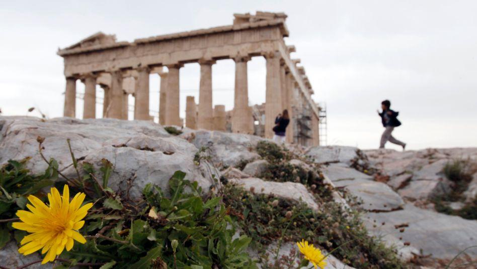 Akropolis in Athen: Eine rasche Staatspleite Griechenlands hilft niemandem
