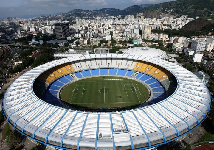 Maracanã-Stadion in Rio de Janeiro