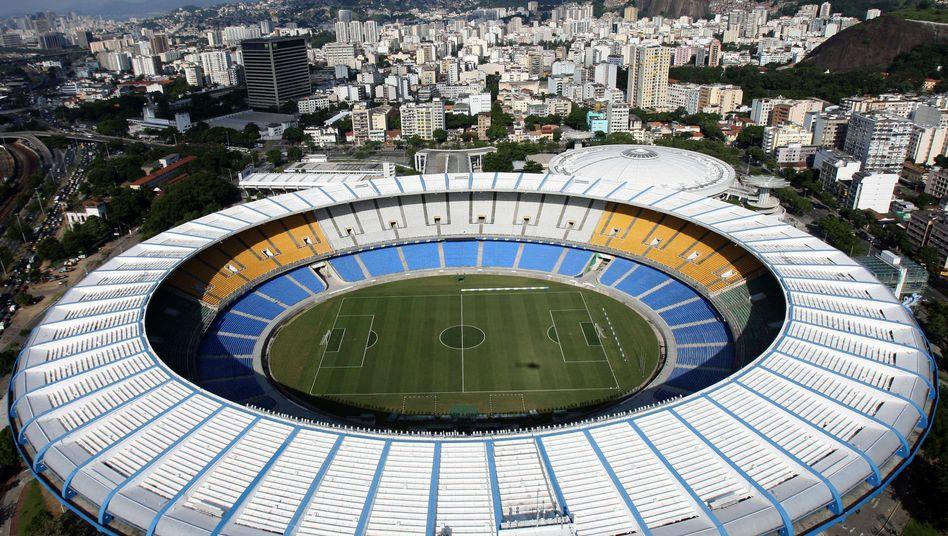 Maracana Stadion in Rio: