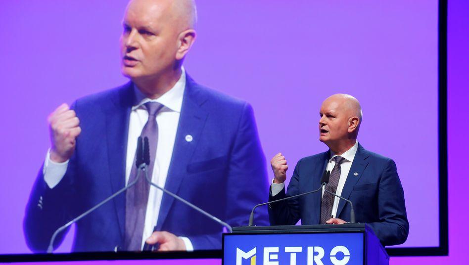 Metro-Chef Olaf Koch: Der Konzern kommentiert die Übernahmegerüchte nicht