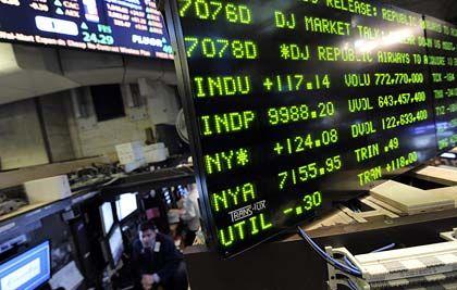 US-Börsen im Minus: Hoffnung auf schnelle konjunkturelle Wende gedämpft