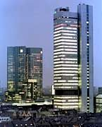 Die Großen unter den Privaten - Deutsche Bank und Dresdner Bank in Frankfurt