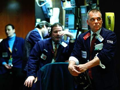 Auf und nieder: Der Dow stürzt ab, der Dax verliert auf Wochensicht knapp 6 Prozent