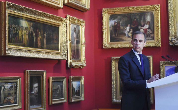 Bank-Chef Carney: Unangenehme Fragen drohen