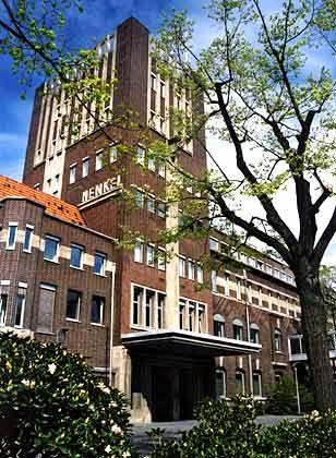 Backsteinarchitektur: Das historische Verwaltungsgebäude des Henkel-Konzerns in Düsseldorf-Holthausen entwarf Walter Furthmann in den 20er Jahren.