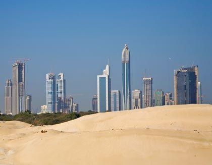 Auf Sand gebaut? Den Projekten in Dubai geht das Geld aus