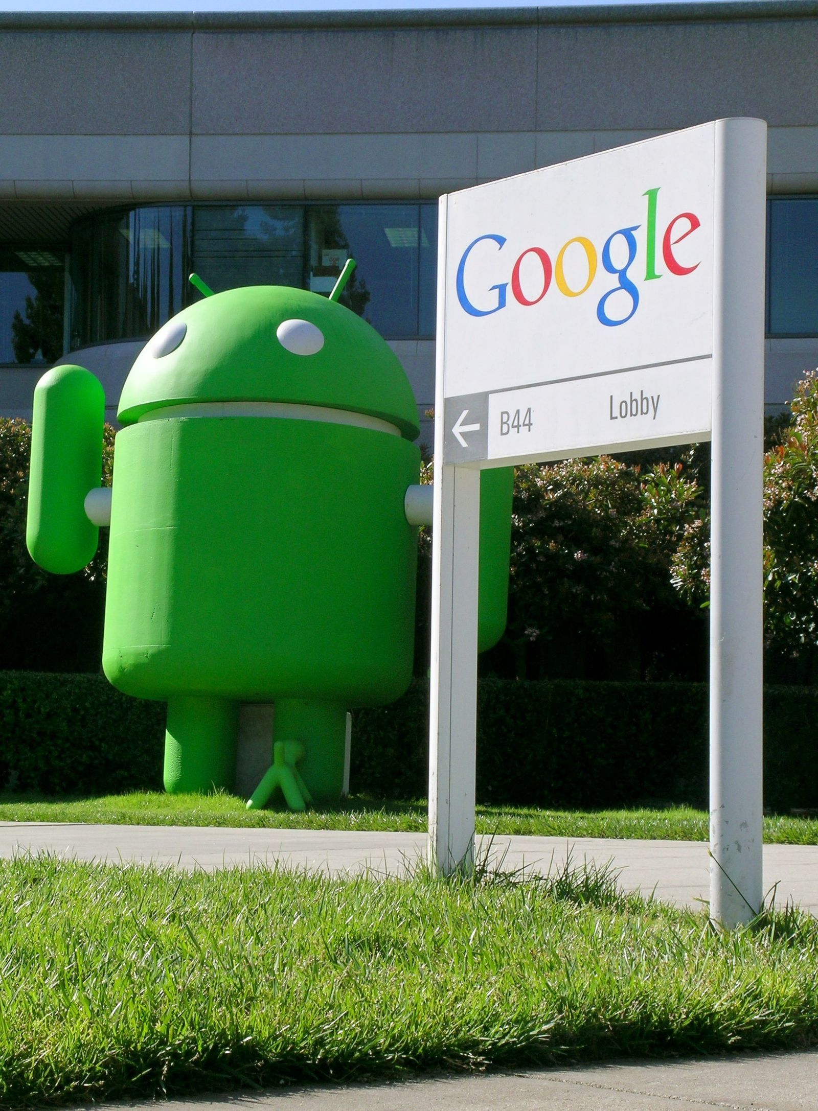 Googles Android-Handys auf dem Vormarsch
