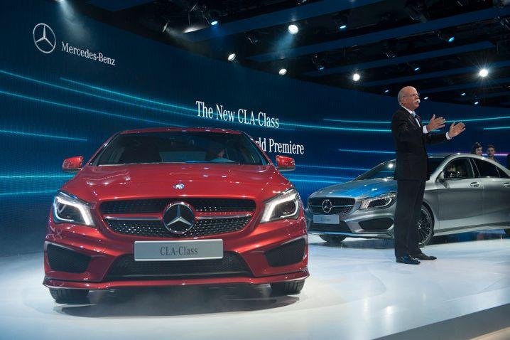 Der Motor des Dax: Die Autobranche ist für jeden dritten Euro Umsatz im Dax verantwortlich. Daimler gelang es zudem als einzigem Dax-Konzern, seinen operativen Gewinn in Q1 zweistellig zu steigern