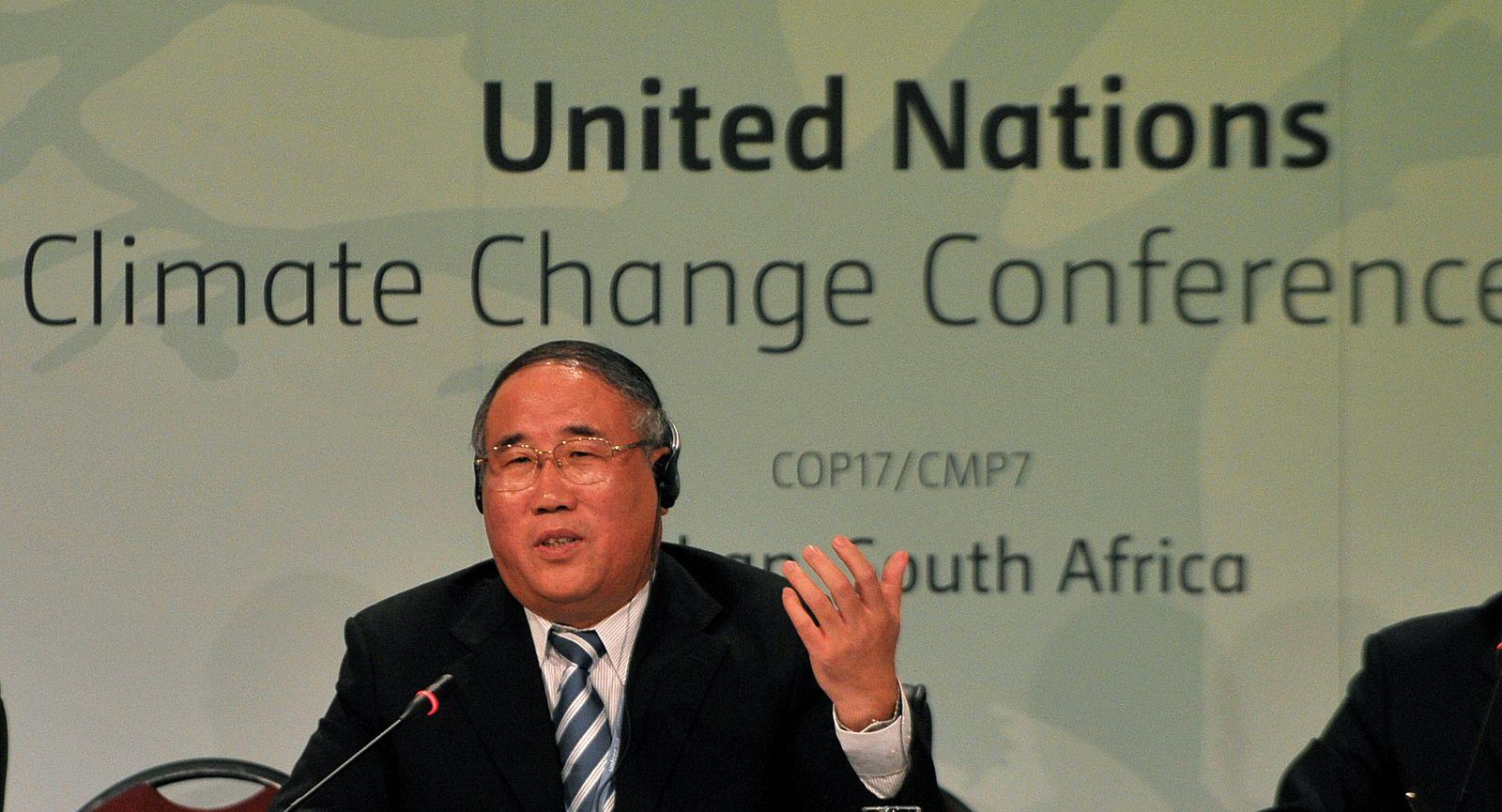 Durban Klimakonferenz / China / Xie Zhenhua