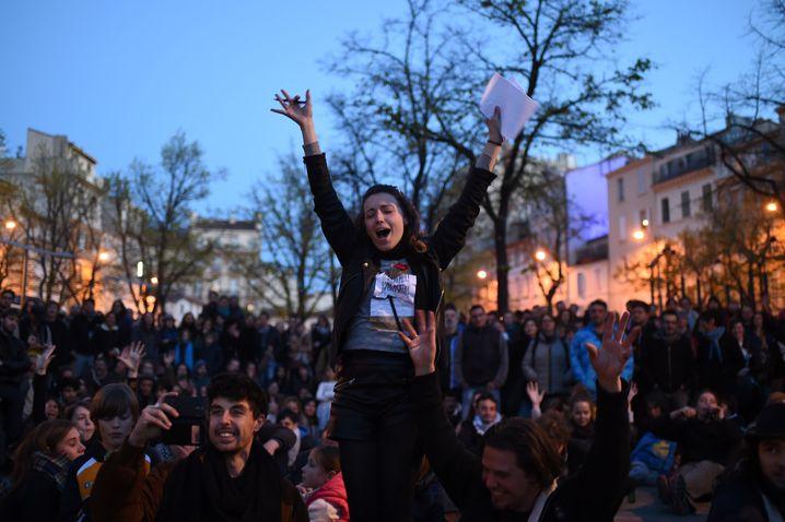 Protestierende Jugendliche in Paris: So schlecht sind die Jobchancen gar nicht
