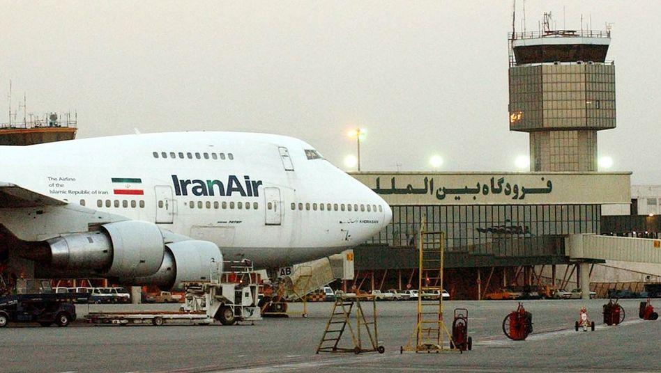 Erneuerungsbedarf: IranAir-Jumbo von Boeing