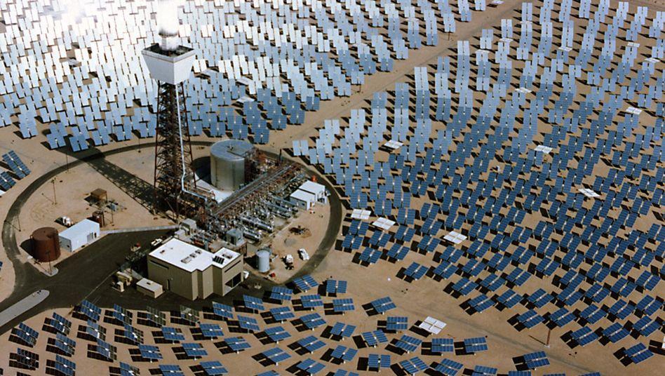 Solarstrom aus der Wüste: Europa könnte bald mit Strom aus der Wüste Afrikas versorgt werden