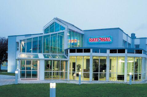 Rational AG / Eingang Firmensitz