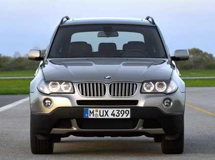 Vor optischer Auffrischung:BMW-Geländewagen