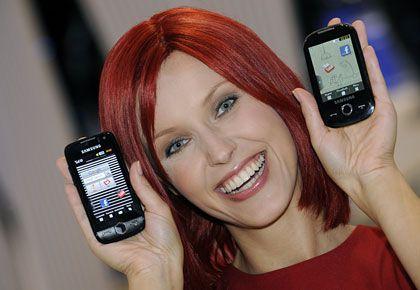 Neue Technologien: Neben 3D-Fernsehen werden auch viele Handys zu sehen sein