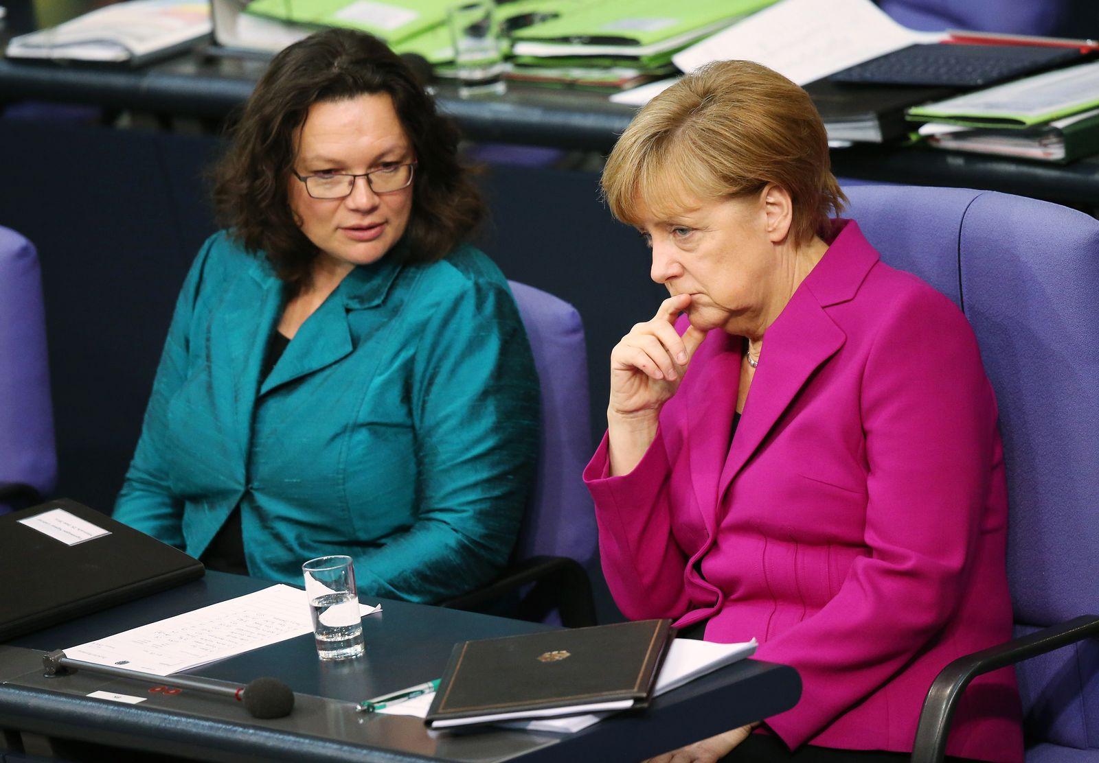 Merkel Nahles