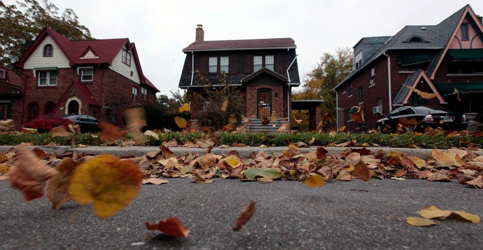 Seit den Spitzenzeiten im Jahr 2006 sind die Häuserpreise in den USA um mehr als 30 Prozent gefallen, selbst 2011 gaben sie um 4 Prozent nach
