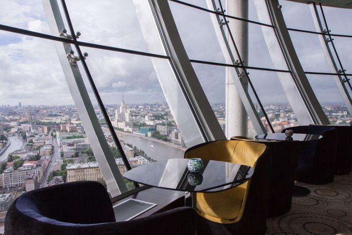 """Bar with a View:Das """"City Space"""" ist elegant, aber nicht neureich, und die Aussicht grandios"""