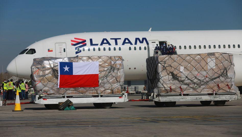 Latam Airlines: Die lateinamerikanische Fluggesellschaft hat in den USA mit diversen Tochtergesellschaften Insolvenz nach Chapter 11 angemeldet.