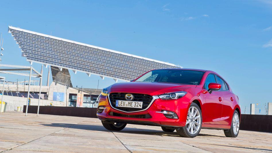 Im Mazda 3 soll demnächst der neue Diesotto-Verbrennungsmotor des Herstellers eingesetzt werden