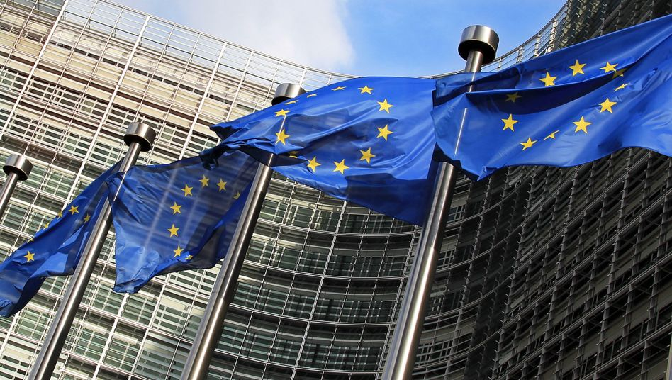 They are in: EU-Commission in Brussels