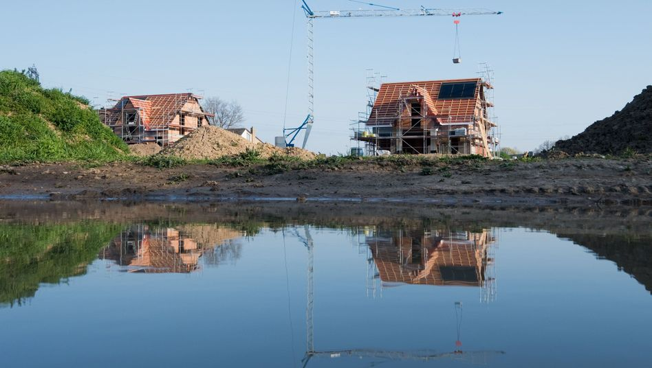 Neubaugebiet im niedersächsischen Laatzen (Archivbild): Wohnungsbau als Förderschwerpunkt