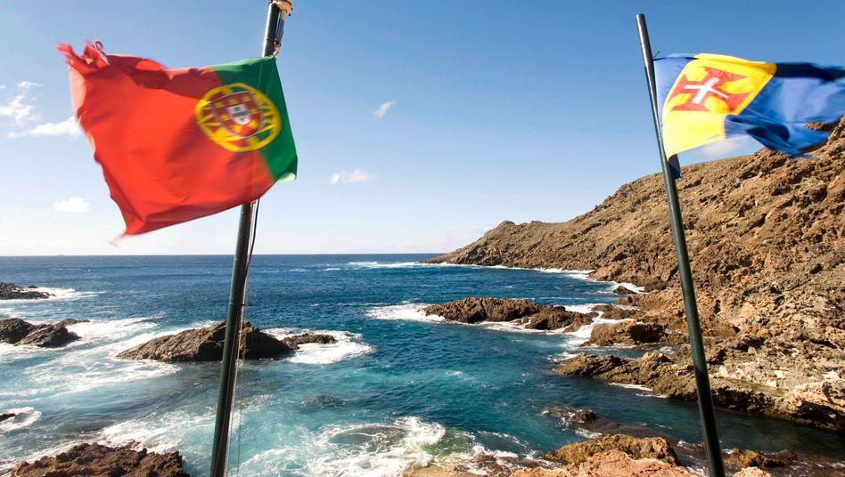 Schöne Aussichten: Mancher Gipfel in Portugal ist per Treppenlift erreichbar